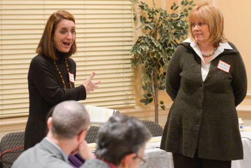 Elizabeth Appley and Senator Renee Unterman 1-22-14